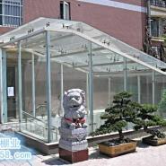 广东钢化玻璃棚图片