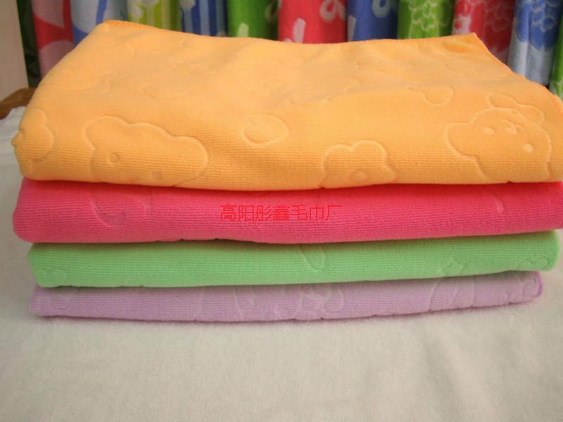 优质超细纤维经编毛巾300g357销售
