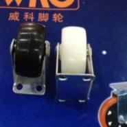 定向橡胶扁轮固定橡胶轮图片