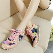 运动休闲女式阿甘鞋迷彩女鞋网鞋图片