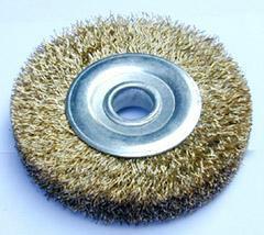 供应钢丝轮-镀铜钢丝轮