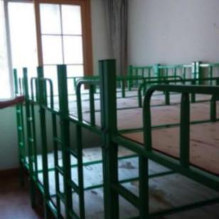 优质钢材儿童床图片