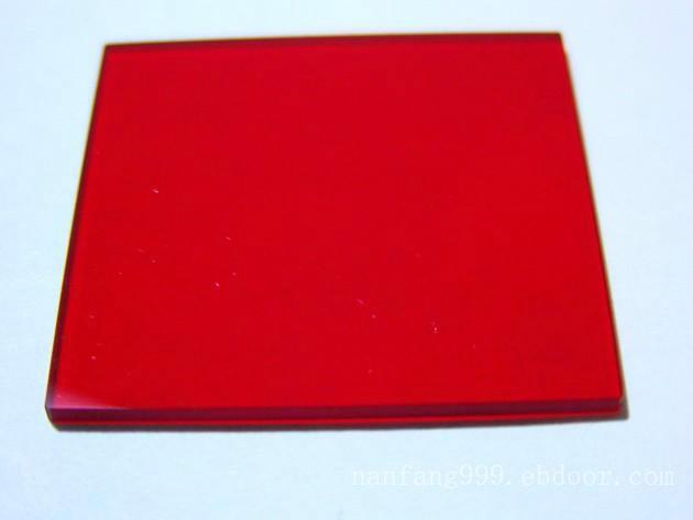红色透明亚克力板销售