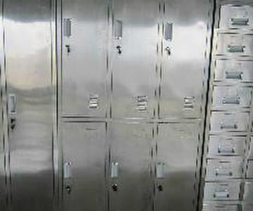 供应湖北沙市不锈钢中药柜销售图片