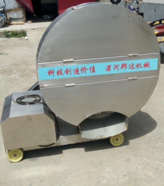 供应漯河邦达冻肉切块机