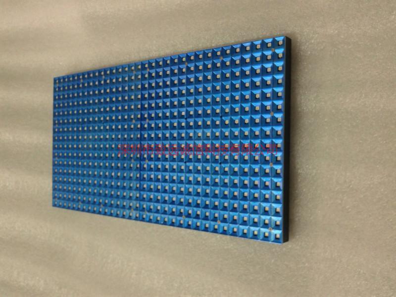供应P10土豪金表贴单蓝单元板/深圳最好的表贴单色厂家