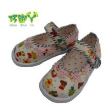 供应河南手工童鞋厂家批发儿童凉鞋布鞋批发