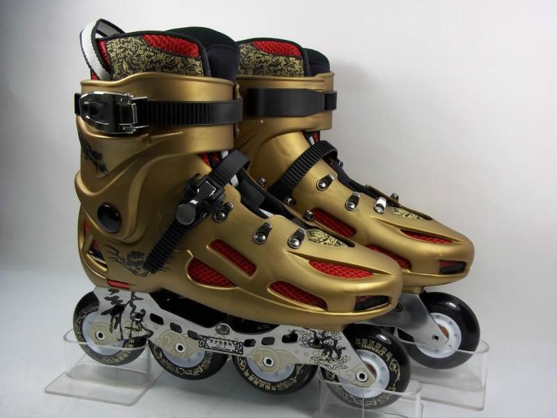 供应佐斯达贺岁版轮滑鞋溜冰鞋直排轮滑