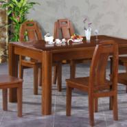 榆木实木餐椅图片