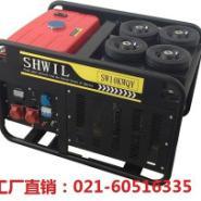 小型规格本田10kw汽油发电机图片