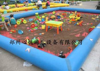 家用充气沙池幼儿园儿童沙滩池报价图片