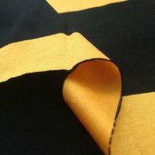 供应双丝光棉间条布 丝光棉色织布厂家