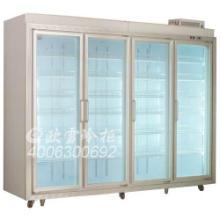 豪华四门冷藏柜展大型可定做