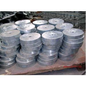 供应机械设备用锌-铝-镉合金牺牲阳极图片
