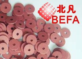供应普洱红字绝缘垫片红色垫圈片