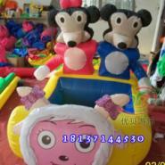 充气电动玩具车/儿童卡通电动车图片