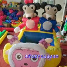 供应儿童电瓶玩具车/充气电动动物车图片