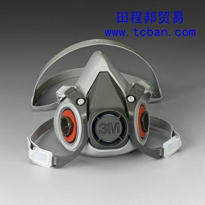 供应防护面罩防毒面具3M6200防毒面具防尘面具