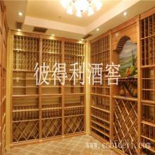 供应贵州云南定制实木酒柜酒架