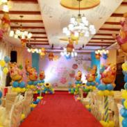 成都宝宝宴气球造型/气球装饰布置图片