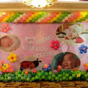 四川气球装饰/宝宝宴布置图片