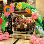 宝宝宴拱门/气球拱门/气球装饰布置图片