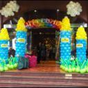 气球城堡图片
