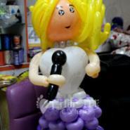 气球小人气球娃娃图片