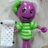 葡萄节气球装饰/新民葡萄节装饰图片