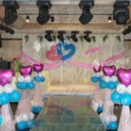 气球婚礼装饰图片