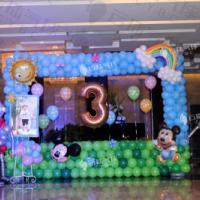 供应奥特曼气球/魔术气球奥特曼/拍照区/气球装饰布置