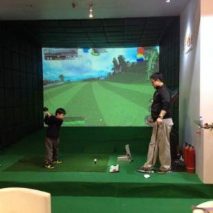 合肥室内高尔夫模拟器图片