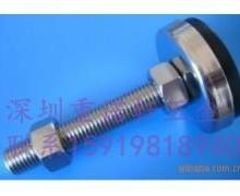 供应不锈钢减震垫铁电镀环保锌带胶地i批发