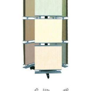 转轴式瓷砖展示架图片