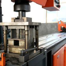 供应全自动金属方管型材冲孔机床,全自动金属圆管型材冲孔机