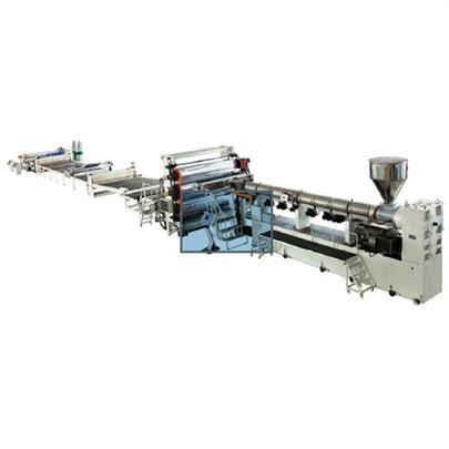 金韦尔PP/PE/ABS/PVC厚板材生产线