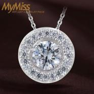 Mymiss克拉之光925纯银项链图片