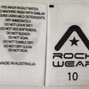 衣服商标 领标 棉带图片