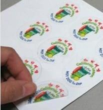 供应不干胶贴纸品质优价格低圆形不干胶标签贴纸透明不干胶批发