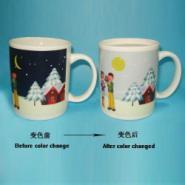 陶瓷变色杯变色陶瓷杯感温变色杯图片