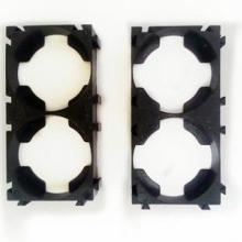 供应26650电池支架两联圆柱锂电池万能组合支架批发