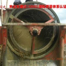 供应移动砂石滚筒筛分选金设备-砂子筛选大型移动式选金车图片