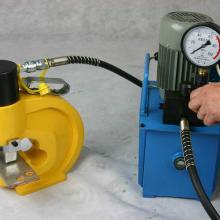 供应液压冲孔机价格液压锁孔机液压批发