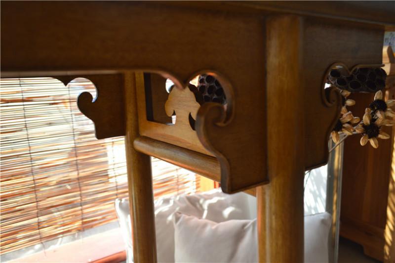 北京/[2014/6/12] 四川桢楠金丝楠木,平头案款式来自王世襄明式家具。...