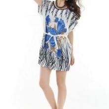 厂家直销精品低价服装时尚波比袖冰丝连衣裙低至16.5