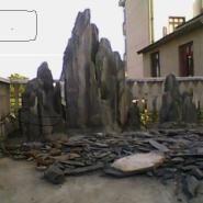 哪里的斧劈石假山最好图片