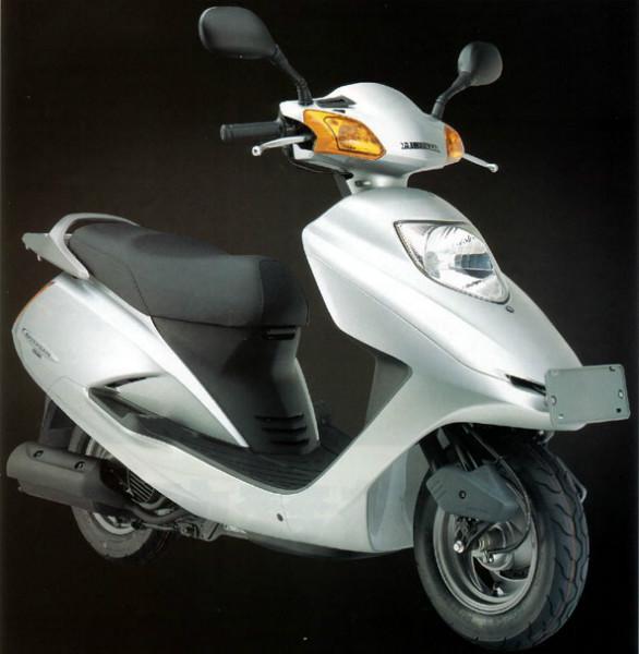 五羊本田追夢125摩托車低價出售 踏板車價格圖片圖片