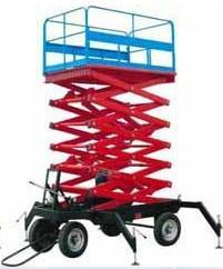 供应8米移动式升降机 移动式升降平台图片
