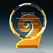 颁奖典礼水晶奖杯图片