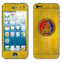 深圳长期供应iphone5土豪金卡通膜炫彩卡通贴膜星光卡通膜批发